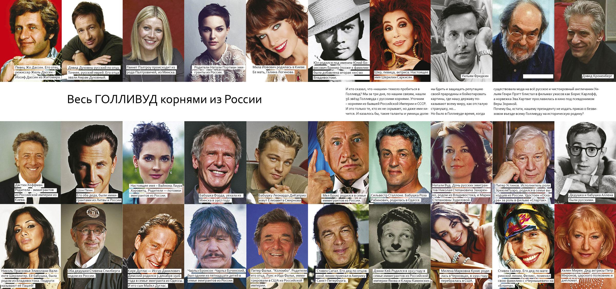 Русские звезды список и фото 3 фотография